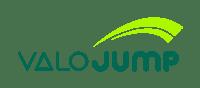 ValoJump logo white background